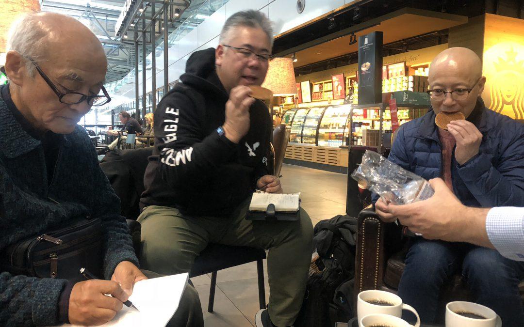 Met Japanners en stroopwafels naar Lesbos [video]